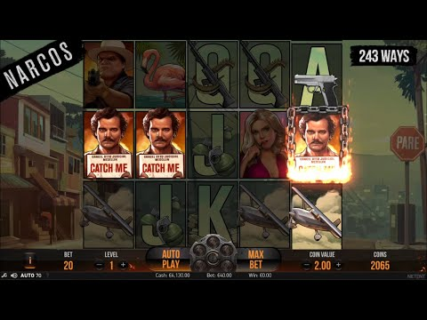 Narcos by NetEnt gameplay