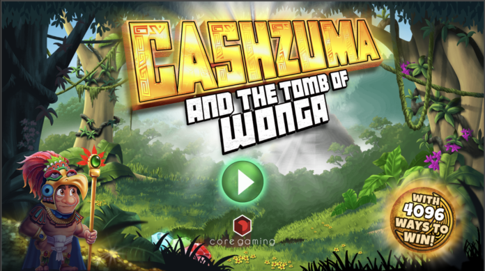 Cashzuma And The Tomb Of Wonga by Core Gaming Logo