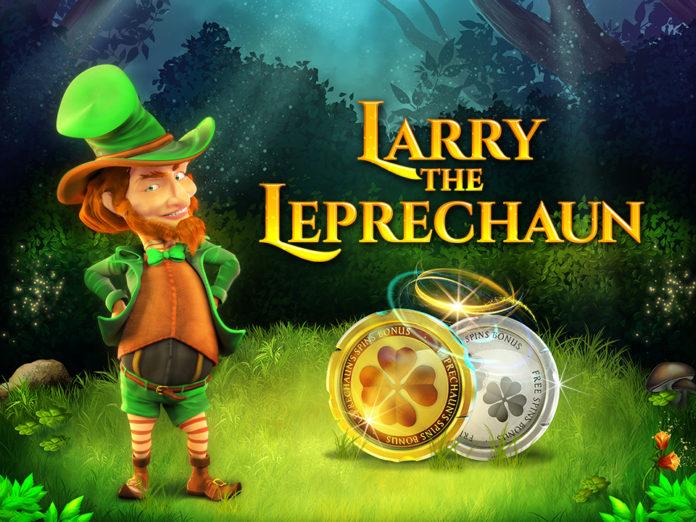 Larry The Leprechaun by Wazdan Logo