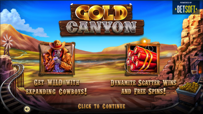 Gold Canyon Logo by Betsoft