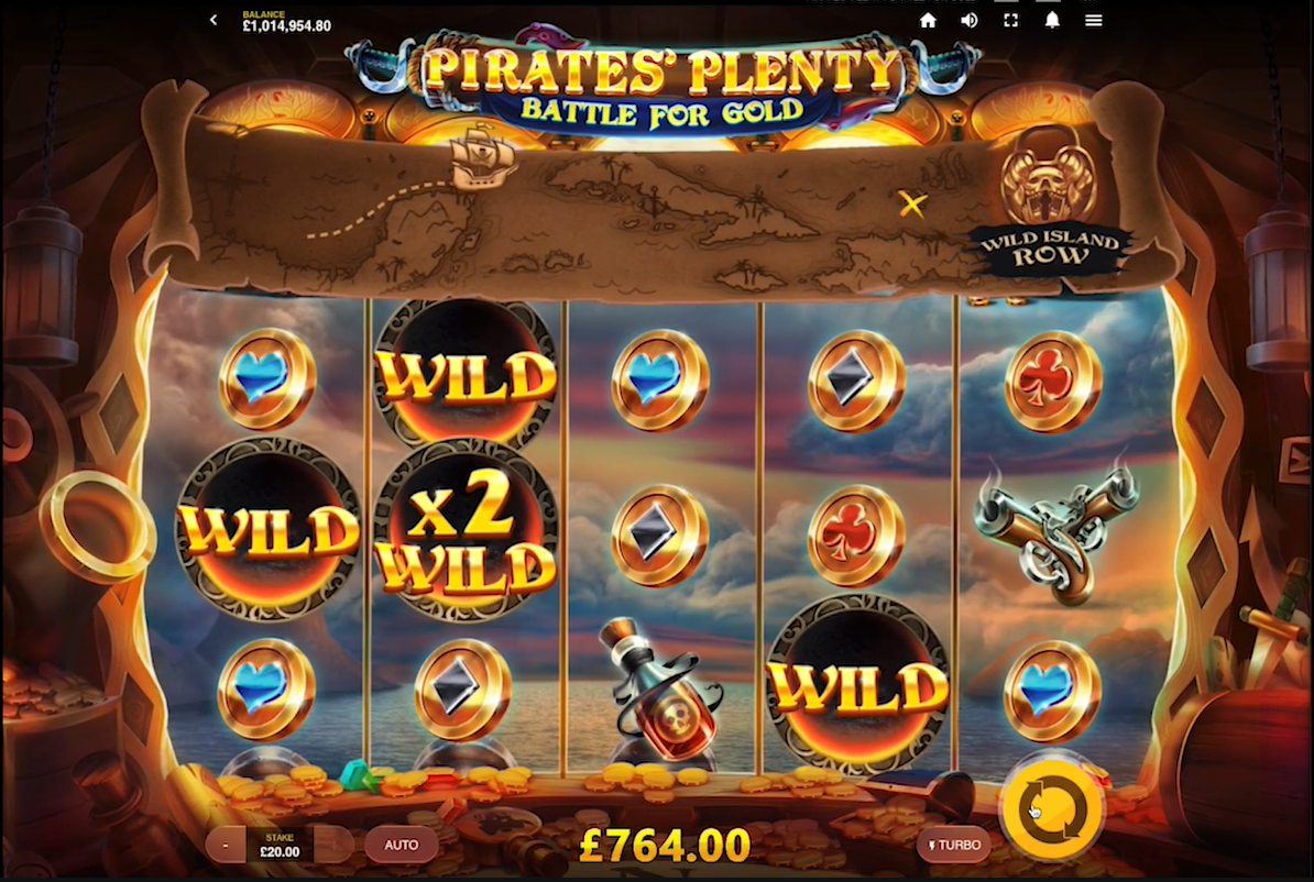 Pirates' Plenty Battle for Gold by Red Tiger Gameplay