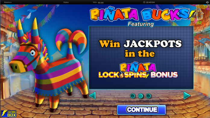 Pinata Bucks From Lightingbox Games Logo