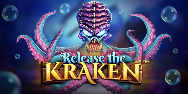 Release the Kraken by Pragmatic play logo