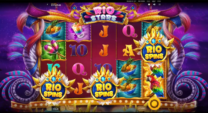 Rio Stars by Red Tiger Gameplay