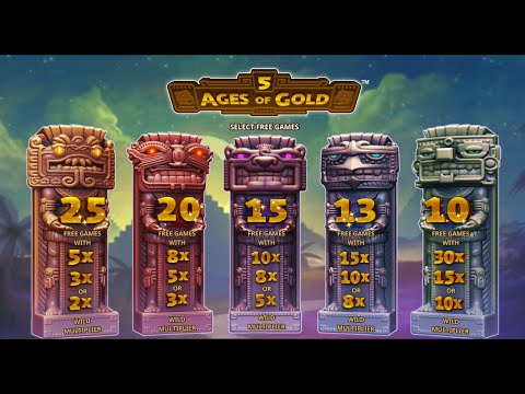 5 Ages Of Gold by Playtech Gameplay