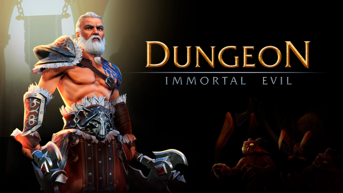 Dungeon Immortal evil by Evoplay Entertainment Logo