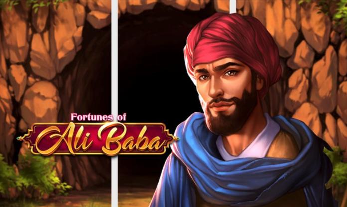 Fortunes Of Ali Baba by PlayNGo Logo