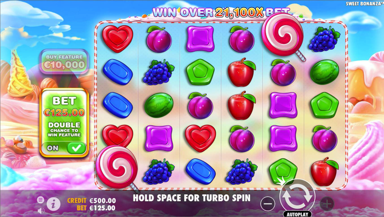 Sweet Bonanza by Pragmatic Play Gameplay