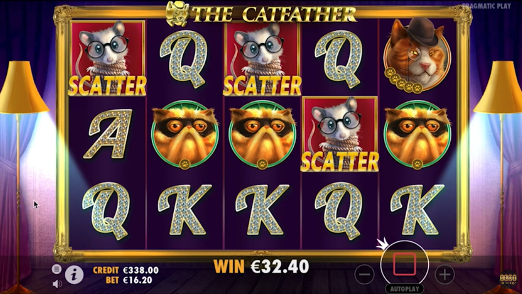 The Catfather by Pragmatic Play Gameplay