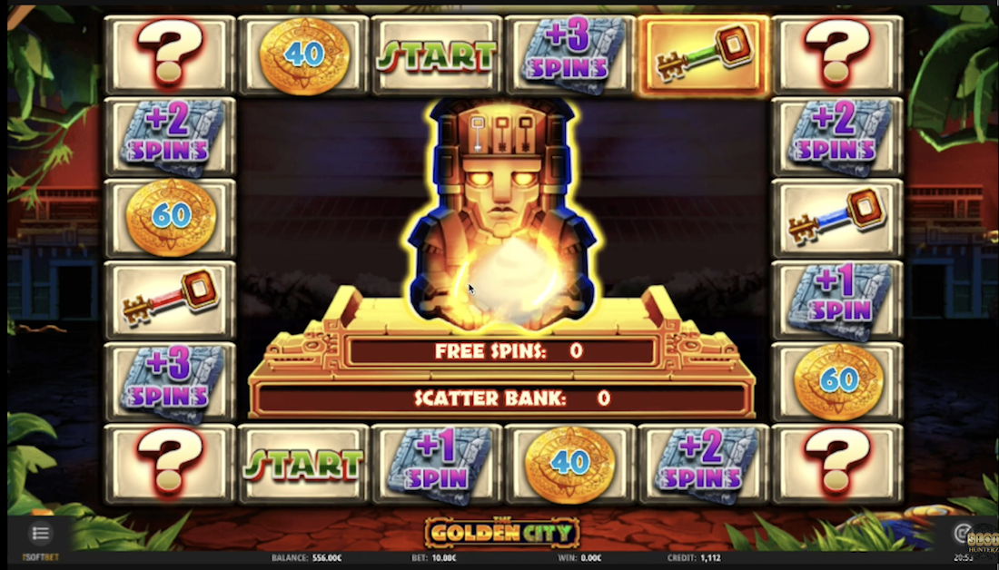 The Golden City by iSoftBet Gameplay