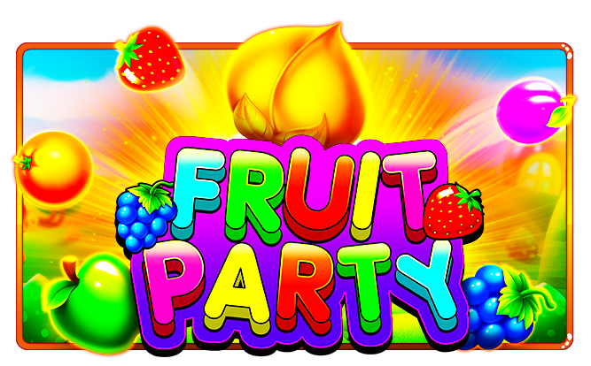 Fruit Party Logo by Pragmatic