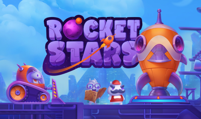 Rocket Stars Logo by Eveoplay