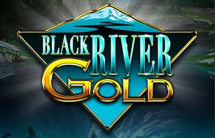 Black River Gold Logo by Elk Studios