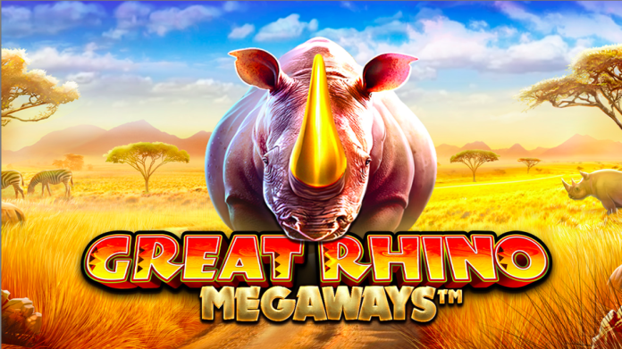 Great Rhino Megaways Logo by Pragmatic