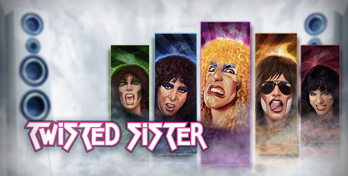 Twisted Sister Logo by Play'n Go