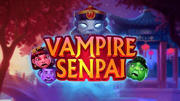 Vampire Senpai Logo by Quickspin