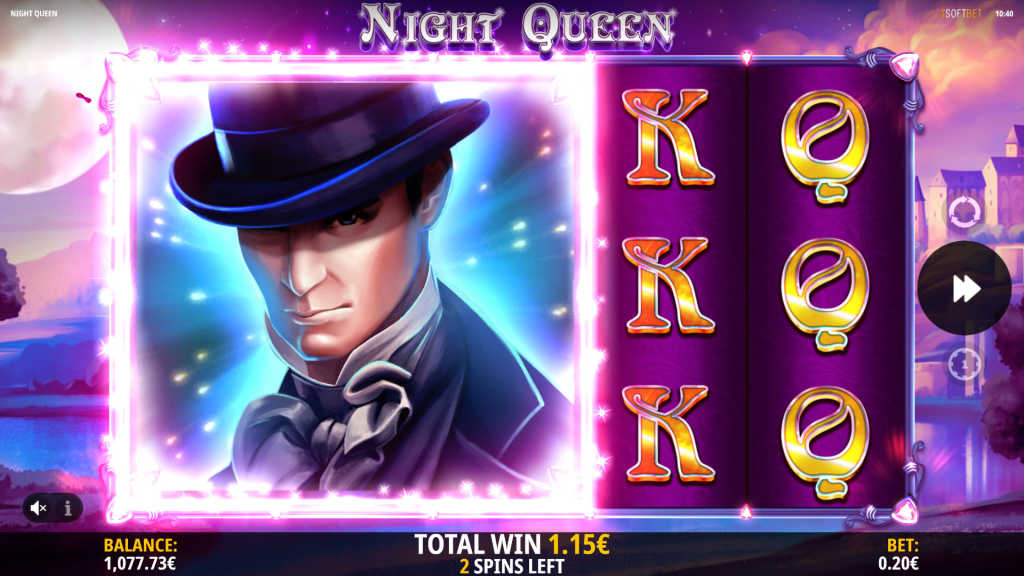 Night Queen Gameplay by iSoftBet
