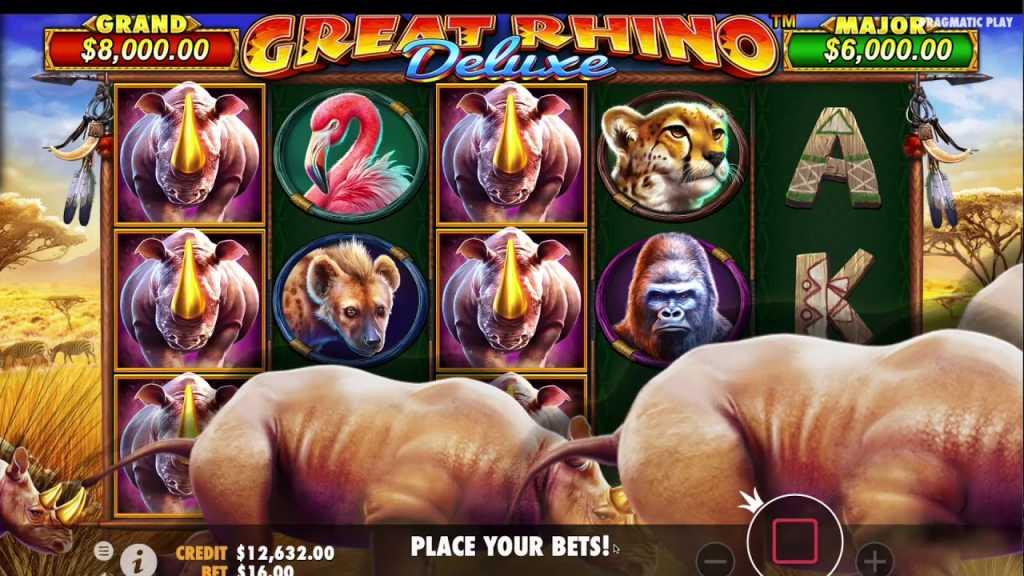 great rhino deluxe gameplay